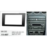 Facia Kit: AUDI A4 (B6) 2002-2006, A4 (B7) 2002-2007 / SEAT Exeo 2009+