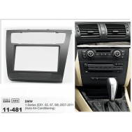 FACIA KIT: BMW 1 SERIES(E81/82/87/88) 2007-2011 WITH AUTO AIR-CONDITIONING