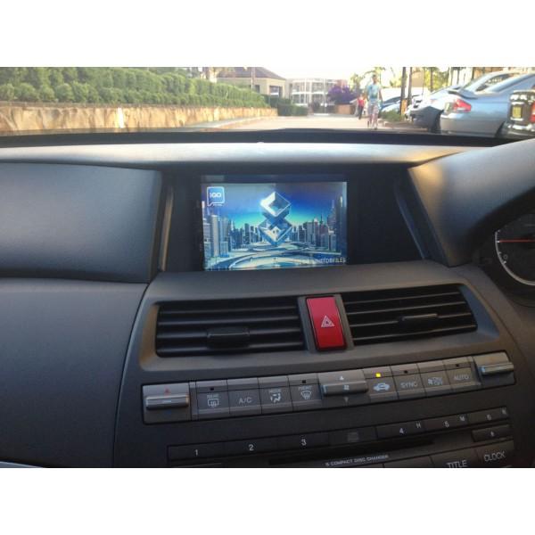 honda accord car dvd player gps navigation system. Black Bedroom Furniture Sets. Home Design Ideas