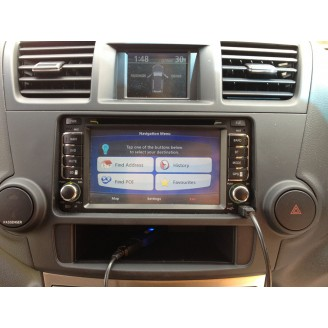 Toyota All-in-one GPS Navigation/ In-dash DVD Player/ Bluetoth/ IPod Multi-media Head Unit
